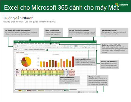 Hướng dẫn Nhanh về Excel 2016 cho Mac