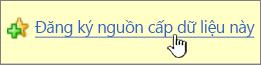Đăng ký với nối kết nguồn cấp này trong Internet Explorer