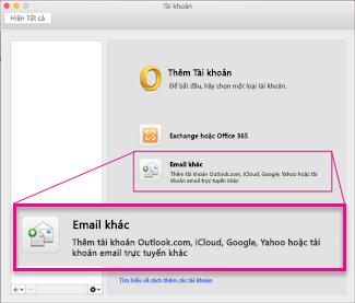 Email Khác
