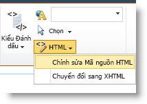 Lệnh Sửa Nguồn HTML
