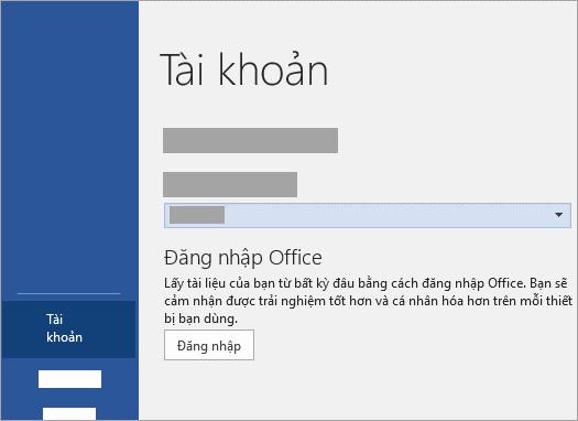 Đăng nhập bằng tài khoản Microsoft hoặc tài khoản Office 365 của cơ quan hoặc trường học.