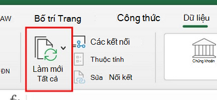 Sử dụng Power query trong Excel for Mac