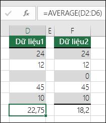 Excel hiển thị lỗi khi một công thức tham chiếu đến nhiều ô
