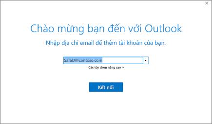 Chào mừng bạn đến với Outlook