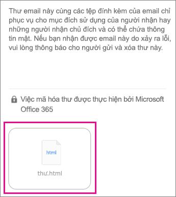 Trình xem OME cho iOS ứng dụng thư 1