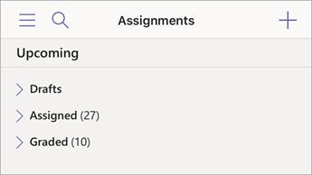 Sắp xếp các bài tập trong Mobile