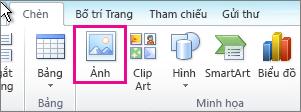 Chèn Ảnh trong Office 2010
