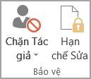 Bảo vệ tài liệu