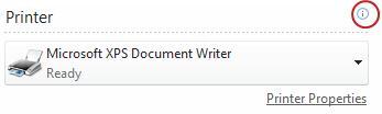Trạng thái máy in của Publisher