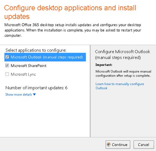 Cấu hình các ứng dụng trên máy tính và cài đặt các bản cập nhật