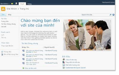 Site nhóm SharePoint