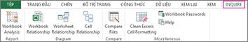 Tab Chẩn đoán trong Excel