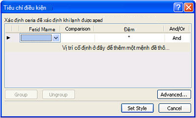 Mở site trong SharePoint Designer 2010