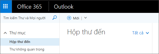 Hình ảnh giao diện ruy băng trong Outlook trên web.