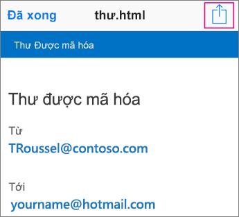 Trình xem OME với Gmail 2