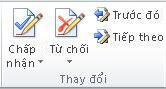 Nhóm Thay đổi