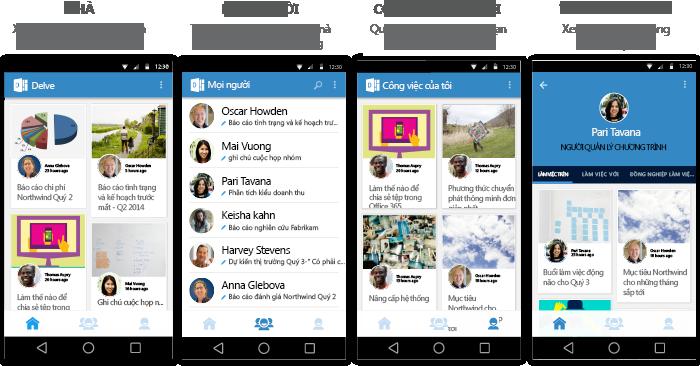 Màn hình Delve cho Android