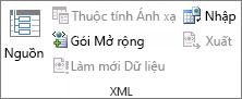 Dữ liệu Làm mới XML