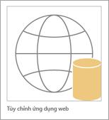 Biểu tượng ứng dụng web tùy chỉnh Access