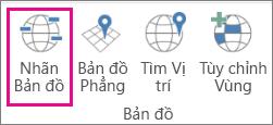 Tùy chọn Nhãn Bản đồ của Bản đồ 3D
