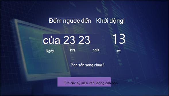 Phần web Timer Countdown