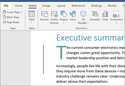 Ảnh, SmartArt và Biểu đồ trong Word của Office 365