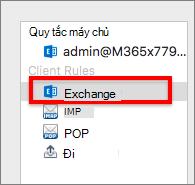 Quy tắc máy khách Exchange