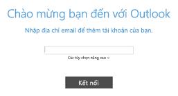 Thêm tài khoản email mới