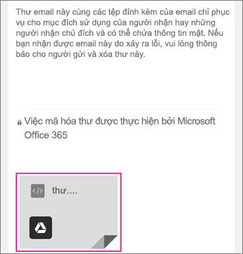 Trình xem OME với Gmail 1
