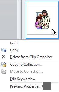Sử dụng lệnh Xem trước/Thuộc tính để xem hình ảnh ở phiên bản lớn hơn, cũng như xem thêm chi tiết về ảnh đó.