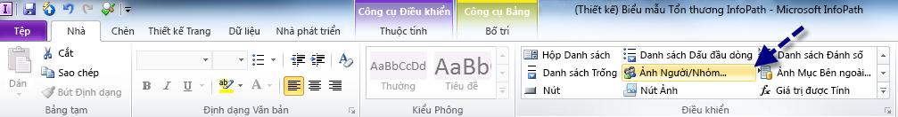 Tab Trang chủ