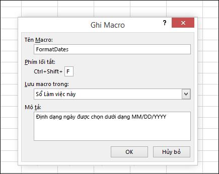Ghi Macro