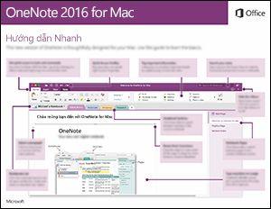 Hướng dẫn Nhanh về OneNote 2016 cho Mac