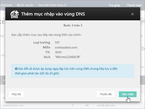 OVH xác nhận TXT cho verification_C3_2017526172553