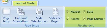 Bỏ chọn một hộp kiểm, chẳng hạn như Đầu trang, để loại bỏ tính năng khỏi bản phân phát của bạn.