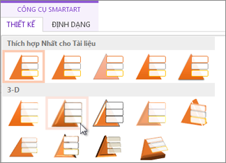 Áp dụng một kiểu SmartArt