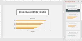 PowerPoint Designer đề xuất các ý tưởng thiết kế biểu đồ
