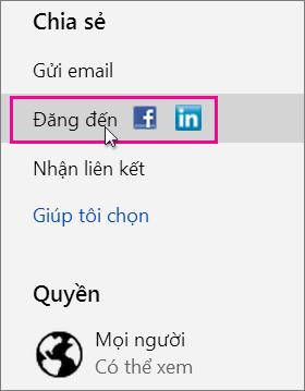 Xác định cụ thể mạng xã hội sẽ đăng lên