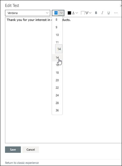 Sửa văn bản có định dạng