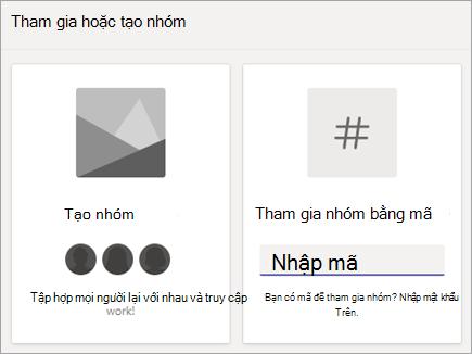 Nhập mã nhóm trong nhóm tham gia nhóm với một lát xếp mã