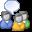 Biểu tượng Nhóm tin trong Business Contact Manager