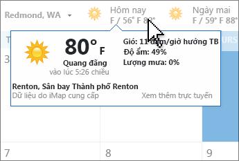 Thanh thời tiết
