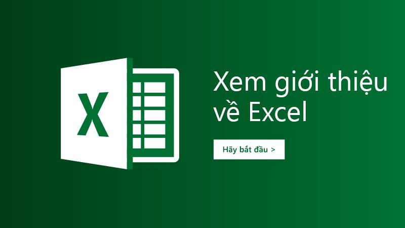 Mẫu tham quan dành cho Excel