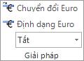 Chuyển đổi Euro và Định dạng Euro