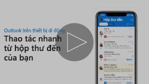 Hình thu nhỏ dành cho video Trả lời thư ngay lập tức cho các lời mời - bấm để phát