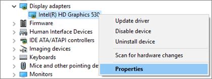 Đi đến Trình quản lý Thiết bị Windows để quản lý trình điều khiển bộ điều hợp hiển thị của bạn.
