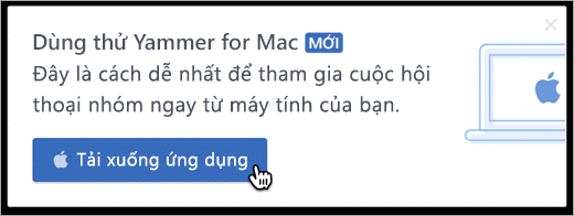 Trong sản phẩm nhắn tin cho Mac
