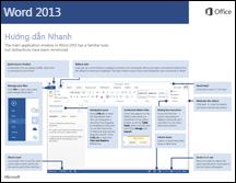 Hướng dẫn Nhanh về Word 2013