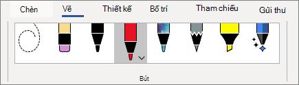 Chọn bút từ bộ sưu tập bút