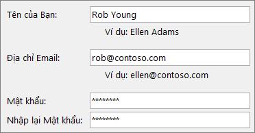 Bắt đầu Nhanh dành cho Nhân viên: Tạo tài khoản email Outlook